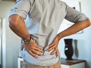 back pain at middle age